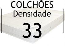 Colchões Densidade 33 o famoso colchão D33.