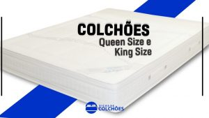 colchão queen size king