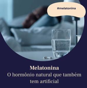 melatonina e o sono