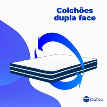 Colchão Dupla Face ou double face!