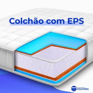 Colchão de EPS conhecido como Colchão com Isopor