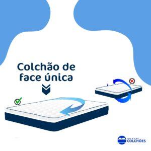 Colchão de face única ou One Face